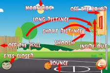 Basketball Trick Shots Lite screenshot 6/6