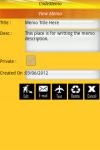 CodeMemo Lite screenshot 2/6