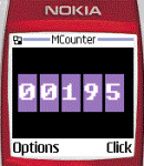 MCounter screenshot 1/1