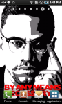 Malcolm X Live Wallpaper screenshot 1/3