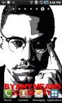 Malcolm X Live Wallpaper screenshot 3/3