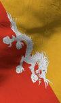 Bhutan flag lwp Free screenshot 4/5