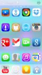 iOS7 XHDPI Nova ADW Apex Theme screenshot 1/3