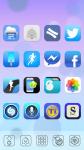 iOS7 XHDPI Nova ADW Apex Theme screenshot 2/3