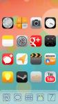 iOS7 XHDPI Nova ADW Apex Theme screenshot 3/3