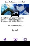 Gray Fullbuster Fairy Tail Wallpaper screenshot 5/6