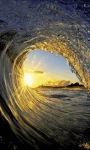 Golden Waves Live Wallpaper screenshot 1/3