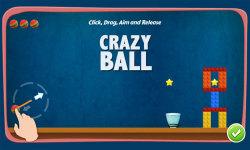 Crazy Ball Free screenshot 1/5