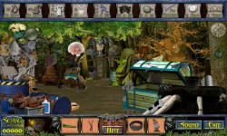 Free Hidden Object Games - Scary Trail screenshot 3/4