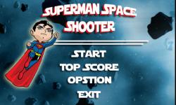 Superman Space Shooter screenshot 1/3