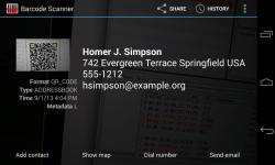 Barcode Scanner 2015 screenshot 1/3