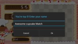 Awesome Cupcake Match - Match3 screenshot 5/6