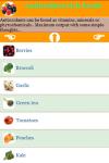 Antioxidant foods rich  screenshot 2/3