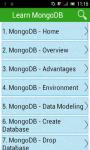 Learn MongoDB screenshot 1/3