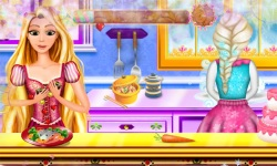 Elsa and Rapunzel Devilish Cooking screenshot 1/3