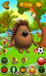 Talking Hedgehog Free screenshot 5/6