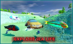Flying Submarine Racing Car screenshot 3/3