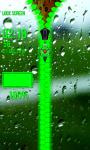 Rain Drops Zipper Lock Screen Best screenshot 5/6