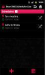 Bear SMS Scheduler Lite screenshot 3/5