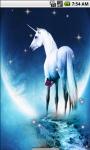 Unicorn Cool Live Wallpaper screenshot 1/4