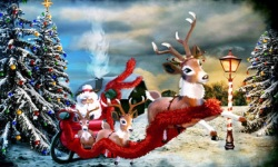 Christmas Wallpapers of Santa Claus screenshot 4/6