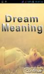 dream meaning in hindi screenshot 1/4