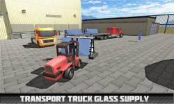 Transport Truck Driver: Glass screenshot 1/4
