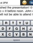 Big Keyboard Email screenshot 1/1