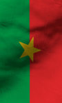 Burkina Faso flag Free screenshot 4/5