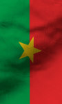 Burkina Faso flag Free screenshot 5/5