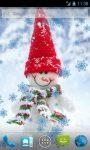 Funny Snowman Live Wallpaper screenshot 1/4