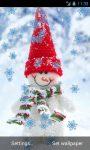Funny Snowman Live Wallpaper screenshot 2/4