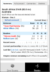 Cricket Updates screenshot 1/1