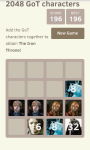 2048 Game of Thrones Edition HD screenshot 2/3