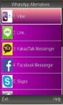 Free Whatsapp Alternatives screenshot 1/3
