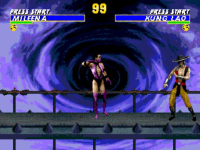 Ultimate Mortal Kombat 3 Sega screenshot 1/6