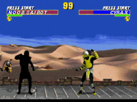 Ultimate Mortal Kombat 3 Sega screenshot 2/6
