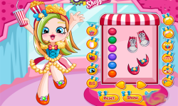 Shopkins Shoppies Popette Dress Up screenshot 1/3
