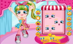 Shopkins Shoppies Popette Dress Up screenshot 3/3