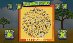 Wild Animals Defense screenshot 2/6