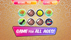 Memory Match Game – Items screenshot 1/5
