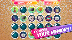 Memory Match Game – Items screenshot 2/5