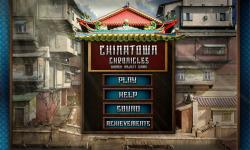 Free Hidden Object Game - Chinatown Chronicles screenshot 1/4
