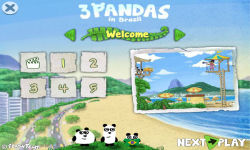 3 Pandas in Brazil screenshot 1/4