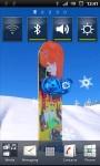 Blue Snowboard Live Wallpaper screenshot 1/3