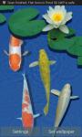 Fresh Water Koi Fish Swim Live Wallpaper screenshot 1/3