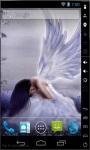Sad White Angel Live Wallpaper screenshot 1/2