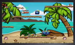 Beach Buggy on Run game screenshot 3/3