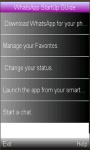 WhatsApp Startup  Guide screenshot 1/1