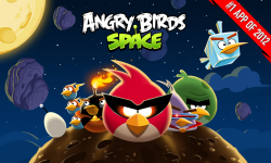 Angry Birds Space screenshot 1/5